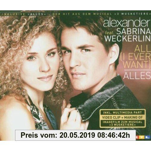 Sabrina Alexander Ft.Weckerlin All (I Ever Want)/Alles