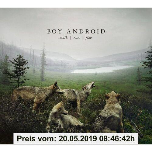 Boy Android Walk/Run/Flee