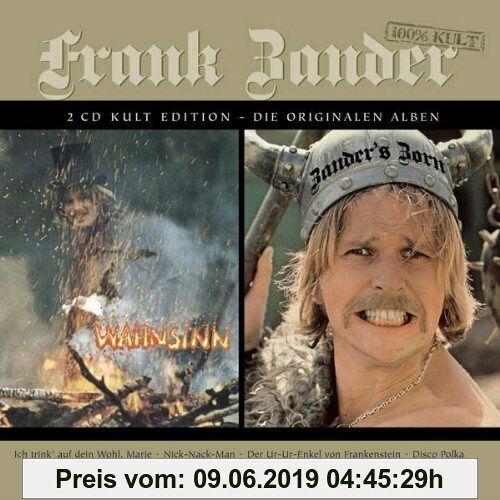 Frank Zander Wahnsinn/Zander'S Zorn