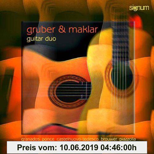 Gruber & Maklar-Gitarre Werke für zwei Gitarren
