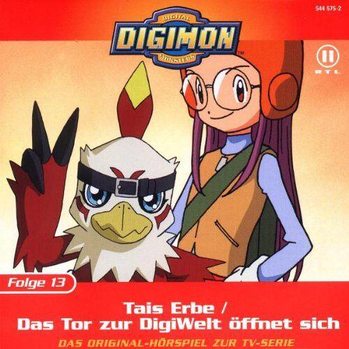 Digimon - Folge 13: Tais Erbe/das Tor zu - Preis vom 26.01.2021 06:11:22 h