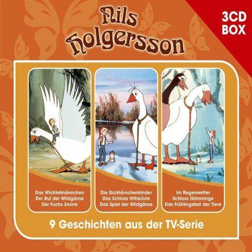 Nils Holgersson - Nils Holgersson 3-CD Hörspielbox - Preis vom 05.09.2020 04:49:05 h
