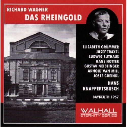 Wagner:Rheingold - Das Rheingold: Grümmer-Traxel-Suthaus-Ho - Preis vom 24.02.2021 06:00:20 h
