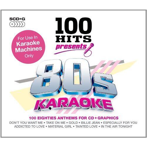 Karaoke - 100 Hits 80s Karaoke - Preis vom 06.09.2020 04:54:28 h