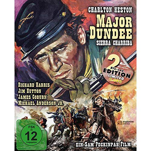 Sam Peckinpah - Major Dundee - Sierra Charriba (Major Dundee) (Mediabook, 2 Blu-rays) - Preis vom 14.04.2021 04:53:30 h