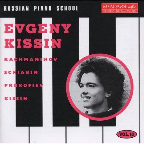 Evgeny Kissin - Russian Piano School - Vol. 10 (Jewgenij Kissin) - Preis vom 15.01.2021 06:07:28 h