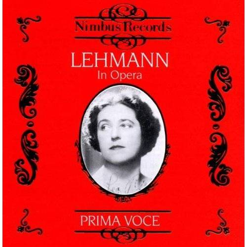 Lotte Lehmann - Lehmann in Opera Vol.1 - Preis vom 03.05.2021 04:57:00 h
