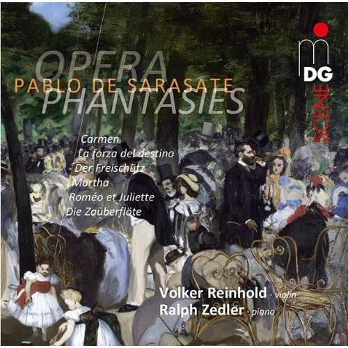 Ralph Zedler - Sarasate: Opera Phantasies - Preis vom 24.02.2021 06:00:20 h