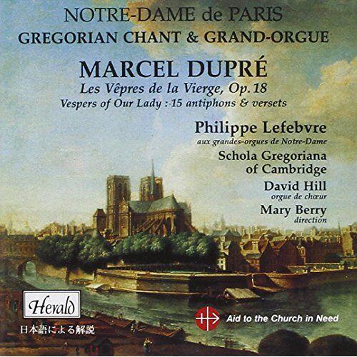Dupre - Les Vepres de la Vierge - Preis vom 14.01.2021 05:56:14 h