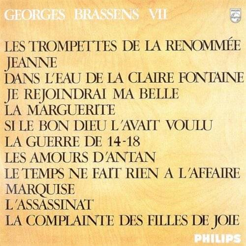 Georges Brassens - Georges Brassens Vol.7 - Preis vom 22.10.2020 04:52:23 h