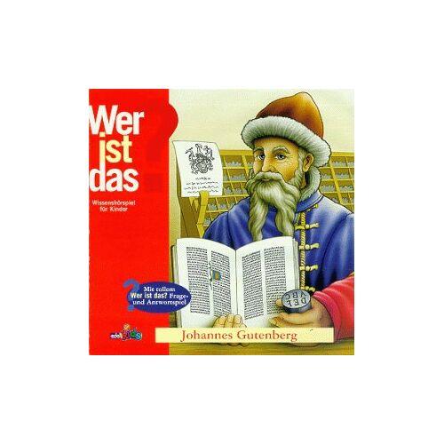 Hörspiel - Wer Ist Das? Johannes Gutenberg - Preis vom 20.10.2020 04:55:35 h