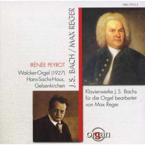 Irenee Peyrot - Klavierwerke für die Orgel - Preis vom 16.04.2021 04:54:32 h