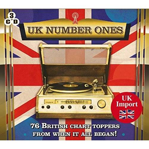Various - UK Number Ones-76 British Charts Toppers - Preis vom 20.10.2020 04:55:35 h