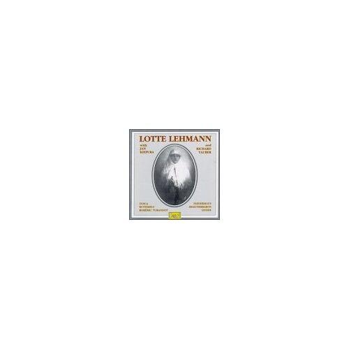 Lotte Lehmann - Lotte Lehmann Vol. 1 - Preis vom 24.02.2021 06:00:20 h