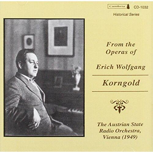 E.W. Korngold - Operatic Arias - Preis vom 14.05.2021 04:51:20 h