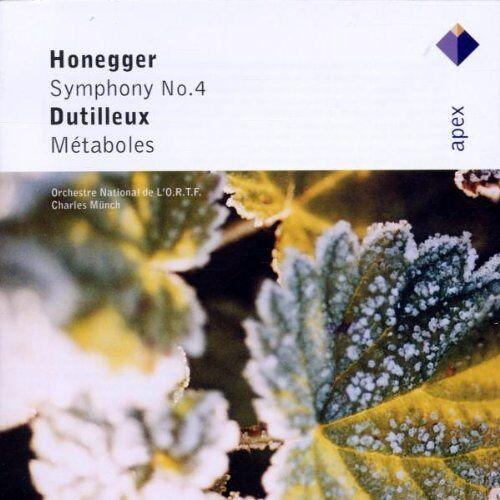 Charles Munch - Sinfonie 4/Metaboles - Preis vom 06.03.2021 05:55:44 h