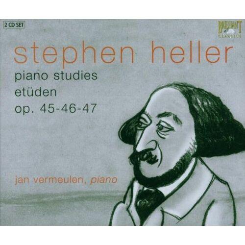 Jan Vermeulen - Heller Studies 2-CD - Preis vom 24.01.2021 06:07:55 h