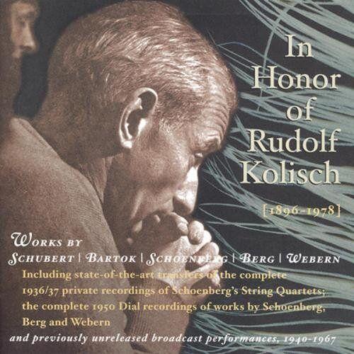 Rudolf Kolisch (Violine) - Rudolf Kolisch zu Ehren - Preis vom 05.09.2020 04:49:05 h