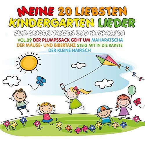 Various - Meine 20 Liebsten Kindergarten Lieder Vol.9 - Preis vom 18.04.2021 04:52:10 h