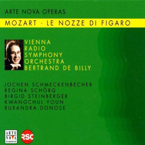 Jochen Schmeckenbecher - Mozart: Figaros Hochzeit (Le nozze di Figaro) (Gesamtaufnahme) (Aufnahme Wien August 2001) - Preis vom 20.10.2020 04:55:35 h