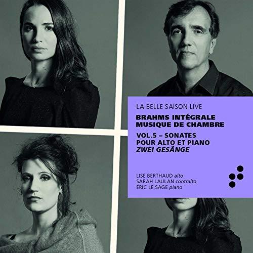 Eric Le Sage - Brahms: Sonate Op. 120 1 & 2 / Gesänge für Alt & Klavier - Preis vom 22.02.2021 05:57:04 h