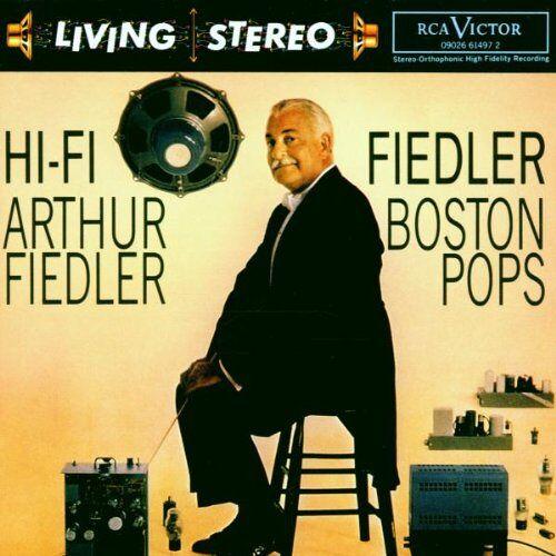 Arthur Fiedler - Living Stereo-Hi-Fi Fiedler - Preis vom 05.09.2020 04:49:05 h