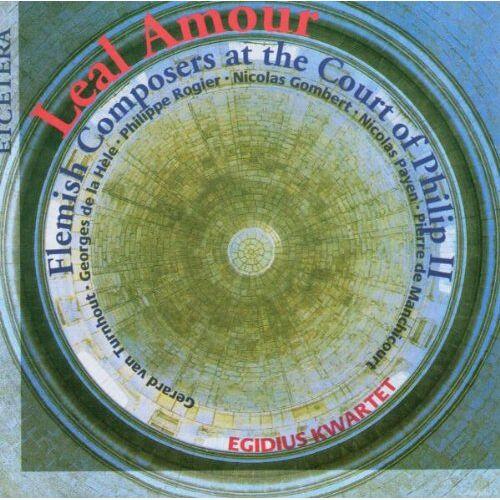 Egidius Quartet - Leal Amour (Flämische Komponisten am Hofe Philipp II.) - Preis vom 21.10.2020 04:49:09 h