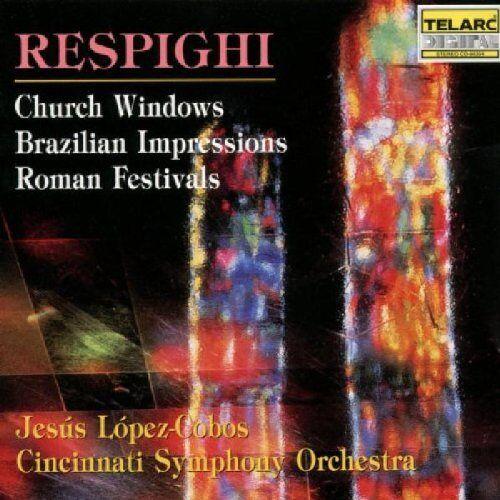 Jesus Lopez-Cobos - Kirchenfenster / Römische Feste - Preis vom 11.05.2021 04:49:30 h