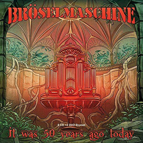 Bröselmaschine - It Was 50 Years Ago Today (5cd,2dvd+Bonus) - Preis vom 25.02.2021 06:08:03 h