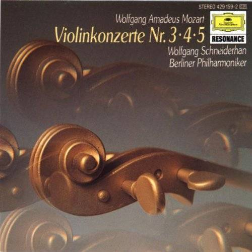 Wolfgang Schneiderhan - Violinkonzerte 3-5 - Preis vom 17.04.2021 04:51:59 h