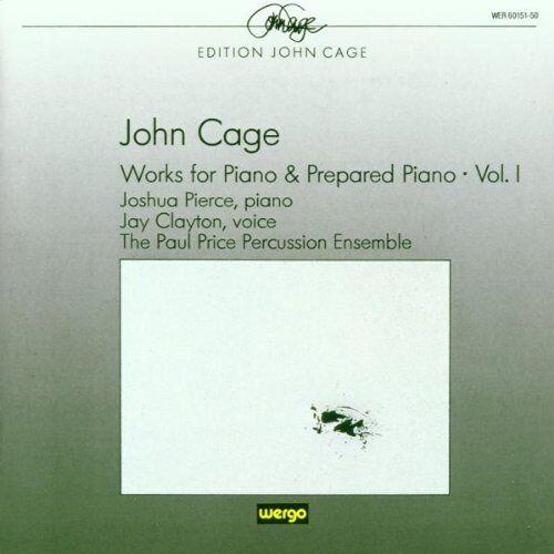 Pierce - Werke für Klavier und präpariertes Klavier Vol. 1 - Preis vom 15.05.2021 04:43:31 h