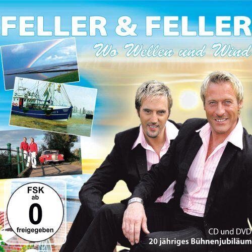 Feller & Feller - Wo Wellen und Wind (CD + DVD) - Preis vom 11.04.2021 04:47:53 h