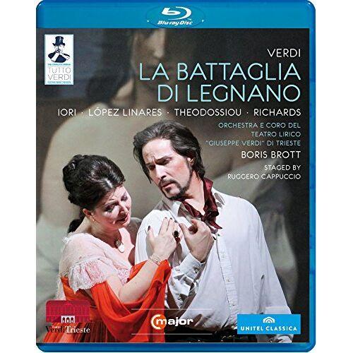 Boris Brott - Tutto Verdi: La Battaglia di Legnano [Blu-ray] - Preis vom 14.04.2021 04:53:30 h