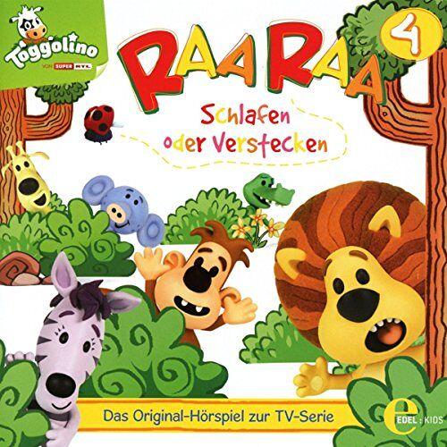 Raa Raa - (4)Hsp Z.TV-Serie-Schlafen Oder Verstecken - Preis vom 15.02.2020 06:02:38 h