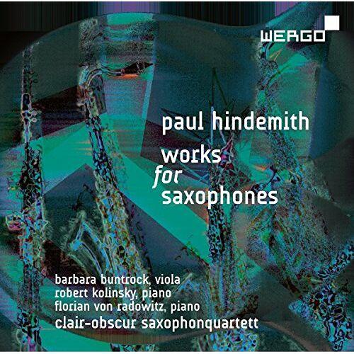 Clair-Obscur Saxophonequartet - Works For Saxophones - Preis vom 06.03.2021 05:55:44 h