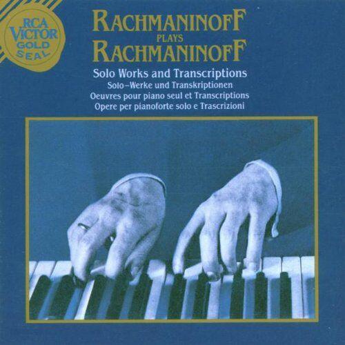 Sergej Rachmaninoff - Rachmaninoff spielt Rachmaninoff - Preis vom 26.02.2021 06:01:53 h