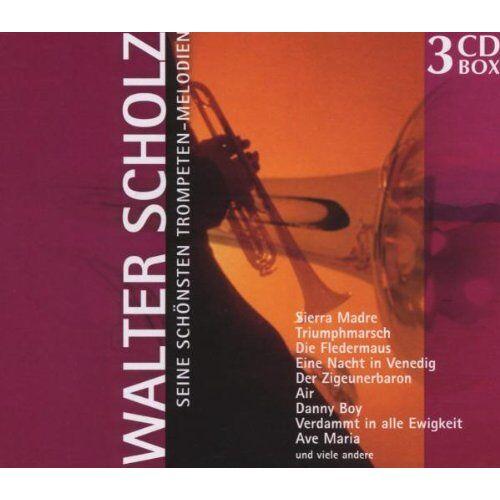 Walter Scholz - Seine Schönsten Trompeten-Melodien - Preis vom 20.10.2020 04:55:35 h