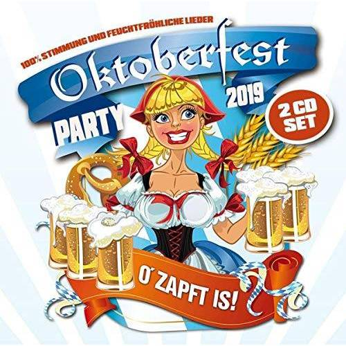 Various - Oktoberfest Party 2019 - Preis vom 16.01.2021 06:04:45 h