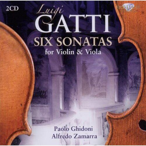 Paolo Ghidoni - Gatti: 6 Sonaten für Geige und Bratsche - Preis vom 12.04.2021 04:50:28 h