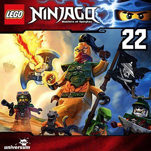 Lego Ninjago-Masters of Spinjitzu - Lego Ninjago (CD 22) - Preis vom 06.03.2021 05:55:44 h