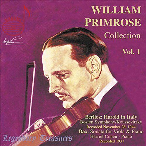 Primrose - Legendary Treasures - William Primrose Collection Vol. 1 - Preis vom 13.08.2020 04:48:24 h