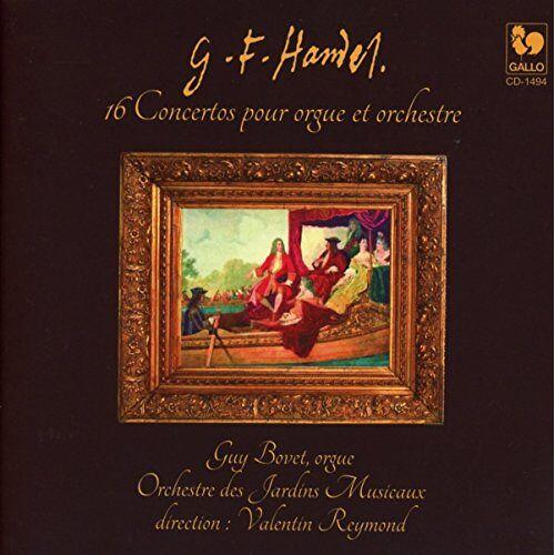 Bovet - Die 16 Orgelkonzerte - Preis vom 12.05.2021 04:50:50 h