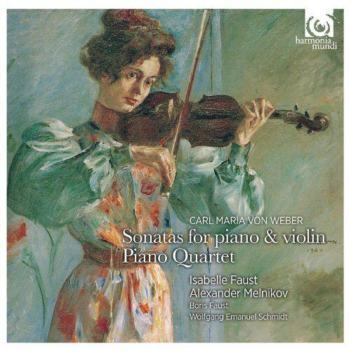 Isabelle Faust - Sonaten für Klavier & Violine op.10 / Klavierquartett op. 8 - Preis vom 14.05.2021 04:51:20 h