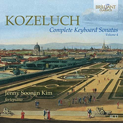 Kim, Jenny Soonjin - Kozeluch:Complete Keyboard Sonatas Vol.4 - Preis vom 11.05.2021 04:49:30 h