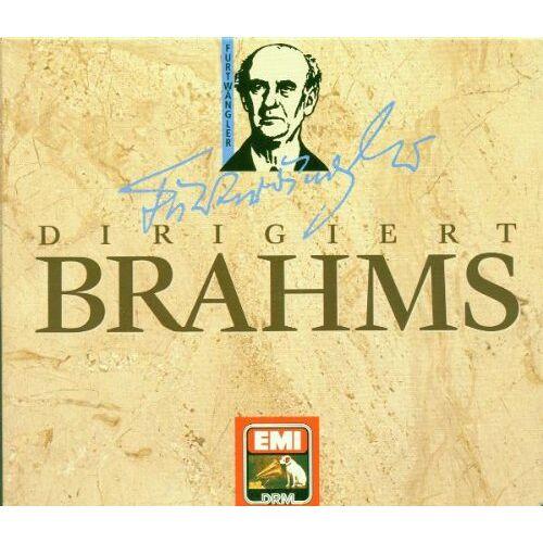 Furtwängler - Furtwängler Dirigiert Brahms - Preis vom 14.01.2021 05:56:14 h