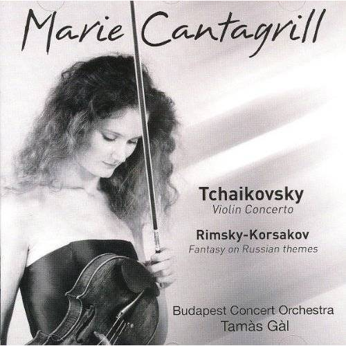 Marie Cantagrill - Violin Concerto/Fantasy on Russian Themes - Preis vom 20.10.2020 04:55:35 h
