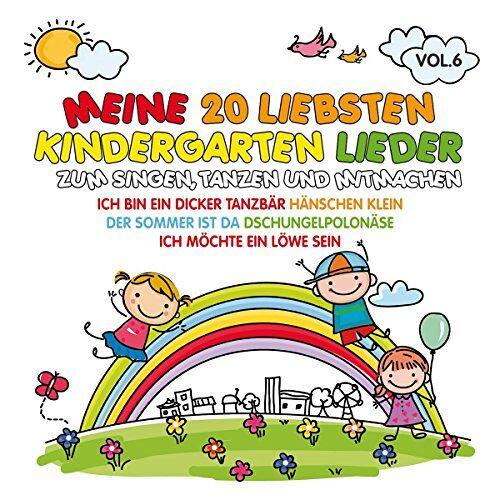 Various - Meine 20 Liebsten Kindergarten Lieder Vol.6 - Preis vom 17.04.2021 04:51:59 h