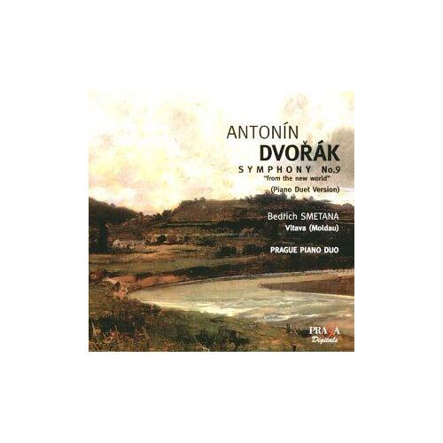 Prager Piano Duo - Sinfonie 9 Op.95/Vlatva (Moldau) - Preis vom 01.03.2021 06:00:22 h