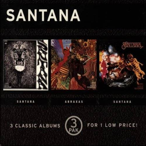 Santana - Santana/Santana/Santana [3-CD-Box] - Preis vom 06.03.2021 05:55:44 h