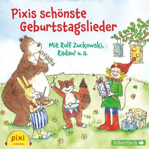 Rolf Zuckowski - Pixis schönste Geburtstagslieder: 1 CD - Preis vom 23.02.2021 06:05:19 h